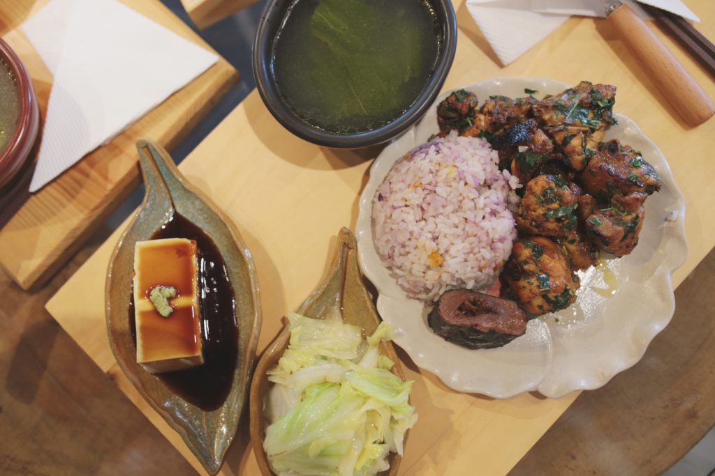 FKUO山芙蓉刺蔥雞套餐