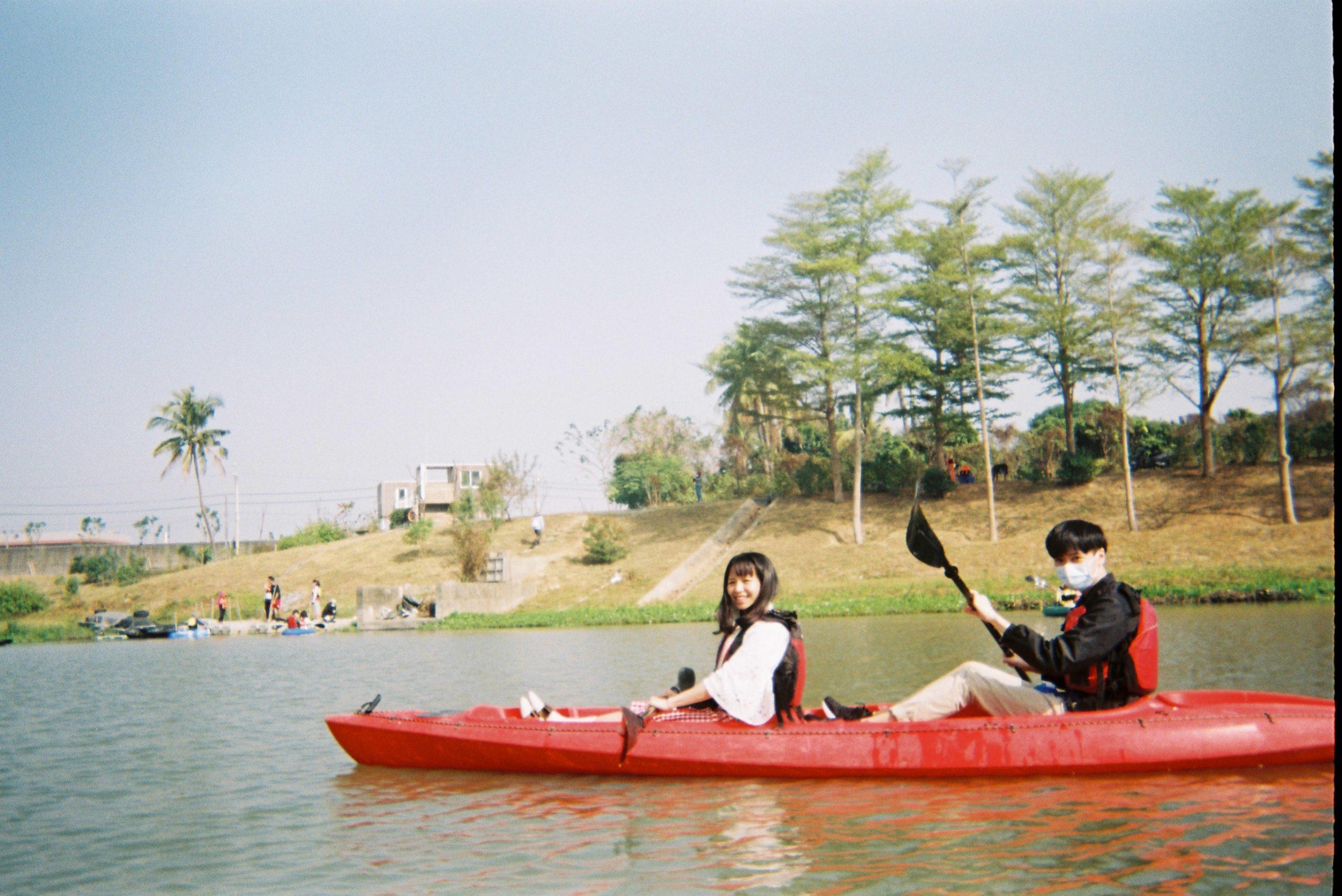 二仁溪獨木舟