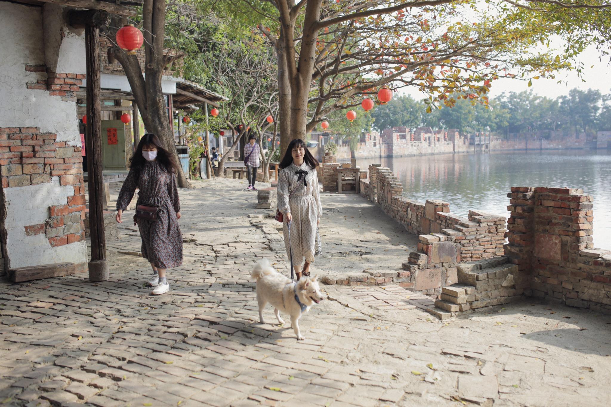 台南學甲老塘湖藝術村